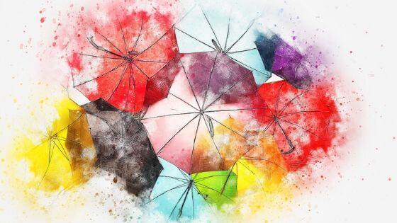 Proaktywność Kolorowe Parasolki